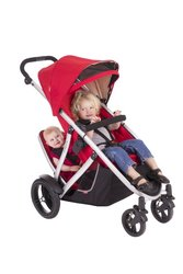 Phil & Teds Vibe and Verve Double Kit Second Seat - Cherry
