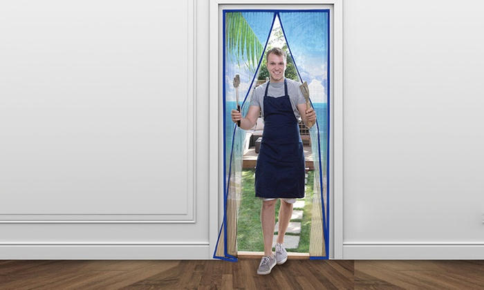 ... Total Value Instant Screen Door - Beach scene ...  sc 1 st  Blinq : instant door - Pezcame.Com