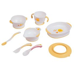 Feeding Set Piyo Piyo Multicolor