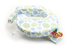 My Brest Friend Leaf Printed Baby Nursing Pillow - Multi - Size: One Size