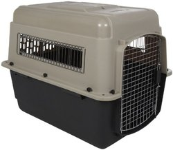 Petmate 21100 Ultra Vari Pets Kennel TAUPE / BLACK