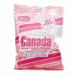 Necco Canada Wintergreen Mints - Pack of 12 - 7-Ounce each