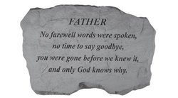 Kay Berry Father No Farewell Words Were Spoken Memorial