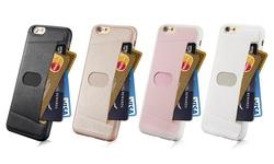 G-Case Percy Card Holder Case IP6 Plus - Black