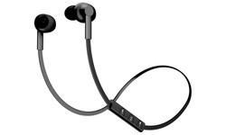 POM Gear P2G-SP2-BLK Basik Secure Fit Bluetooth Earphones Black