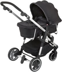 Kiddy Click 'n Move 3 Stylish & Lightweight Stroller Carrycot - Black