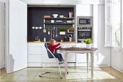 BabyHome Simple & Elegant Taste Highchair - Cloud