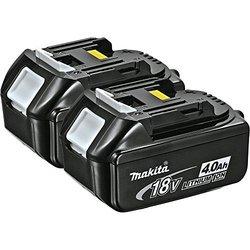 Makita 18-Volt LXT 4.0Ah Lithium-Ion Battery - 2-Pack