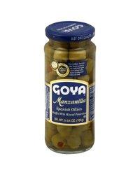 Goya Manzanilla Spanish Olives - 6.75 oz