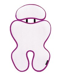 Manito Breath Royal Plus 3D Mesh Liner for Stroller and Car Seat - Purple