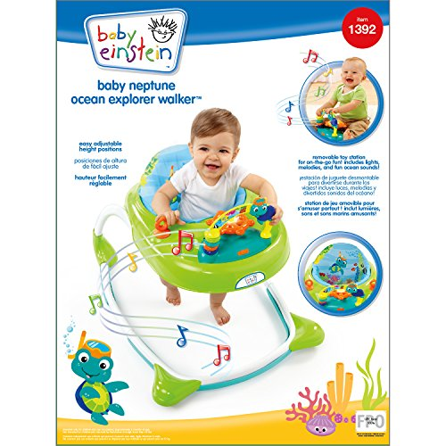 Baby Einstein Kid S Neptune Ocean Explorer Walker Multi