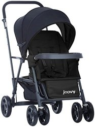 Joovy Caboose Graphite Stand-On Tandem Stroller - Black