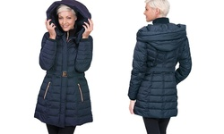 Kensie Women's Down Coats - Navy - Size: Small