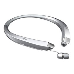LG Tone Infinim Bluetooth Stereo Headset - Silver (HBS-910)