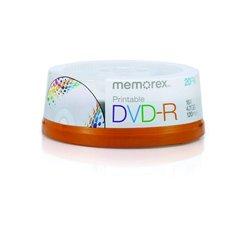 Memorex - DVD-R x 20 - 4.7 GB
