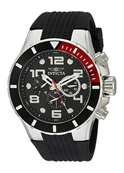 Invicta Men's 18737 Pro Diver Analog Display Swiss Quartz Watch - Black