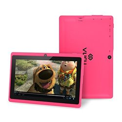 """Vuru A33 7"""" Tablet 8GB Android 4.4 - Pink (VR99000003)"""