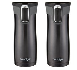 Contigo 16 oz. West Loop Travel Mug - Set of 2 - Matte Black