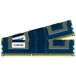 Crucial 32GB Kit (2 x 16GB) 240-Pin DIMM DDR3 PC3-14900 Memory Module