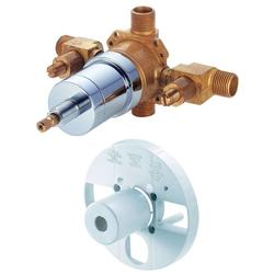 Danze D112000BT 1-Handle Tub & Shower Pressure Balance Valve - Rough Brass