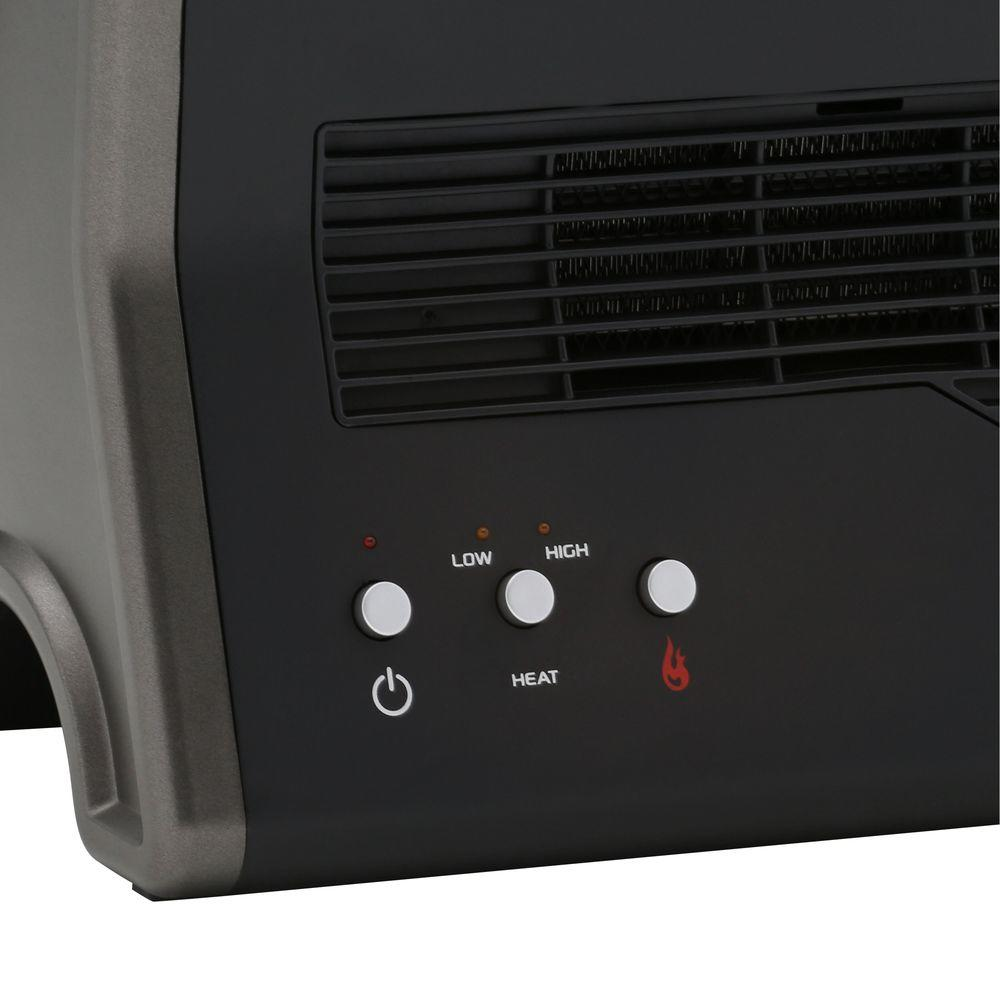 lasko 1500 watt ultra ceramic fireplace portable heater black