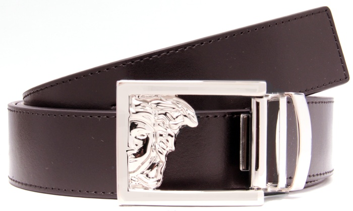 Leather belt Versace cWD6V