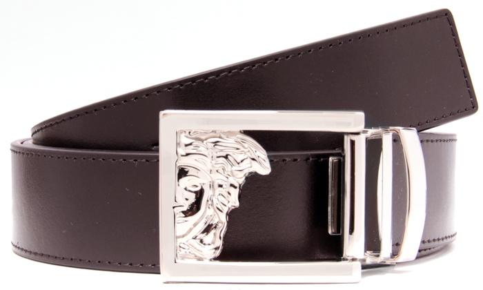 c2d998af Versace Collection Men's Leather Belt - Brown (V91004S) - Check Back Soon