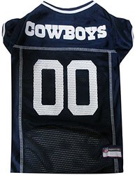 Dallas Cowboys Mesh Pet Jersey Cow Team