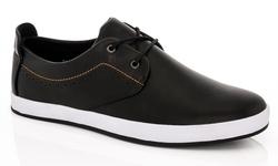 Franco Vanucci Edward Lace-up Men's Sneakers - Black - Size : 13