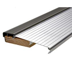 Frost King 5-5/8x3' Silver & Brown Fixed Sill Threshold for Pre-Hung Door