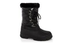 Snow Tec Women's Frost-7 Snow Boots - Black - Size: 11