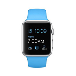 Apple Watch with Starter Kit - 42mm -  Blue (MJ3Q2LL/A)