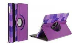 Aduro Geo Rotating Stand Case iPad Pro - Purple (Rotating Stand Case)
