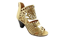 NY VIP Women's 819 Sandals - Gold - Size:10