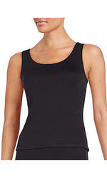 Saks Fifth Avenue RED Crossback Top Black - Size: XS