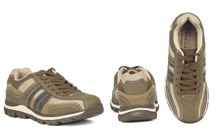 22e690293aa8c2 Perry Ellis Men s Mel Casual Sport Shoes - Brown - Size 9.5 - Check ...