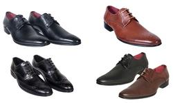 Royal Men's Dress Lace Up Shoes - Brown - Size:13