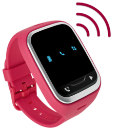 Lg Gizmopal 2 Smartwatch W/ Verizon Wireless: Pink