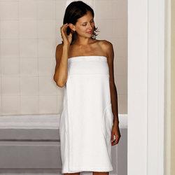 Hammacher Schlemmer Women's Genuine Turkish Shower Wrap - One Size