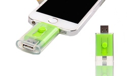 Dual Usb Iphone: 16 Gb - Green
