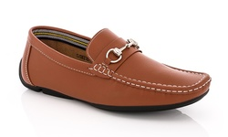 Franco Vanucci Dress Casual Loafer - Tan - Size: 13