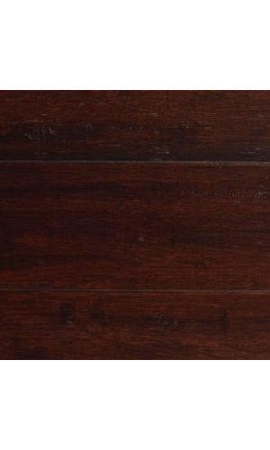 Hdc 12x5 18x72 78 Strand Woven Dark Mahogany Solid Bamboo