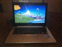"""ASUS VivoBook 13.3"""" Notebook i5 1.6GHz 4GB 500GB Win 8 (RB-886227578979)"""