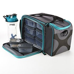 Jaxx FitPak XL with Meal Management Container Set (Teal)
