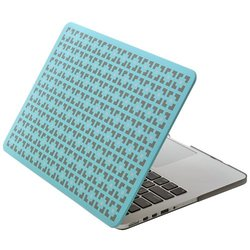 Aduro Softtouch Cover: Macbook Pro Retina 13/turquoise Square