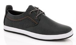 Franco Vanucci Edward-1 Lace-up Men's Sneakers - Gray - Size: 11