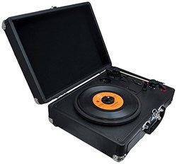 PYLE Bluetooth Vintage Style Vinyl Player Turntable (PVTTBT6BK)
