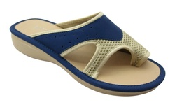 NY VIP Women's Athletic Comfort Sandals - Navy - Size: 8.5