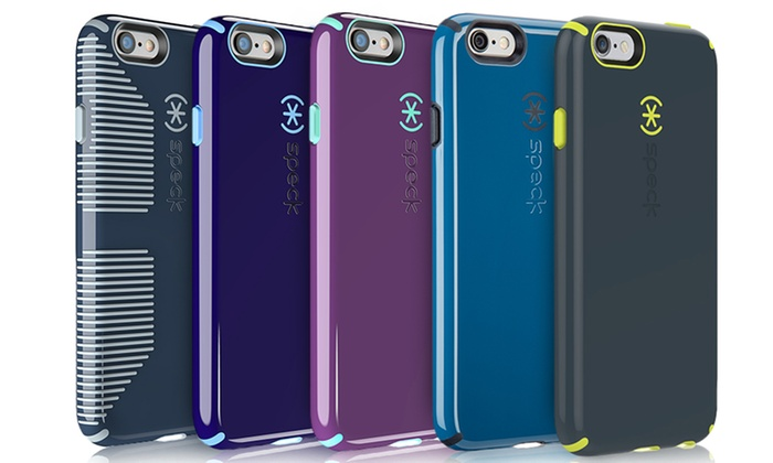 classic fit 31732 dd378 Speck Candyshell Cases for iPhone 6/6s & 6 Plus/6s Plus - White/blue ...