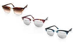 Aquaswiss Milo Acetate Unisex Sunglasses - Black & Purple